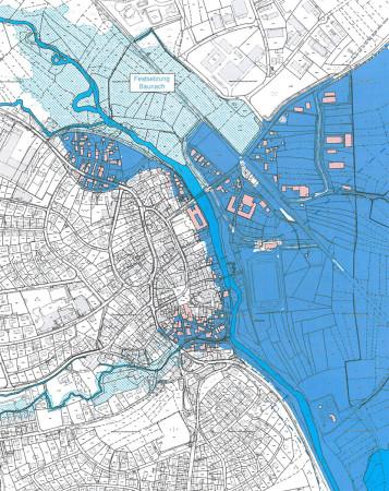 Baunach Berechnung Hochwasser 2015