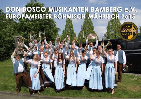 Don Bosco Musikanten EM 2015 (1)