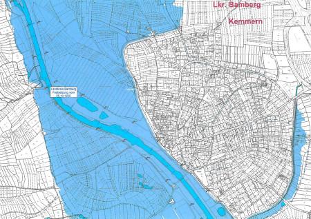 Hochwasser Kemmern Festsetzung 2015