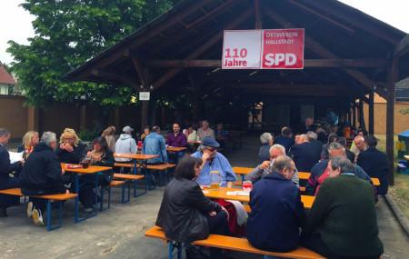 110 Jahre SPD Hallstadt Frühschoppen 3