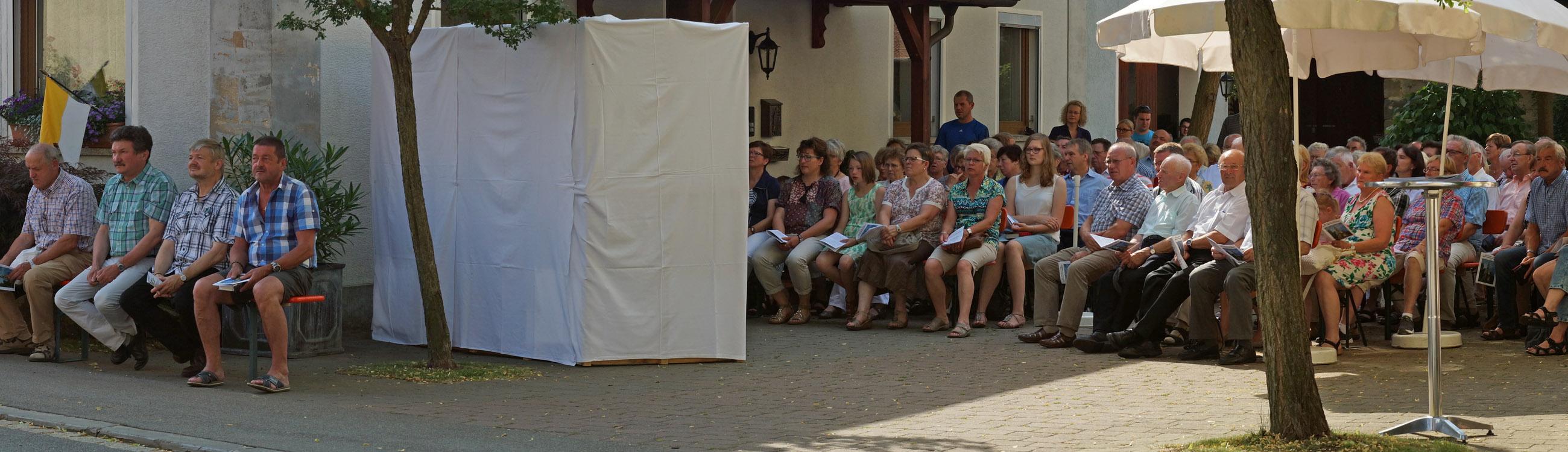 300 Jahre Kirche Hohengüßbach 2015 2