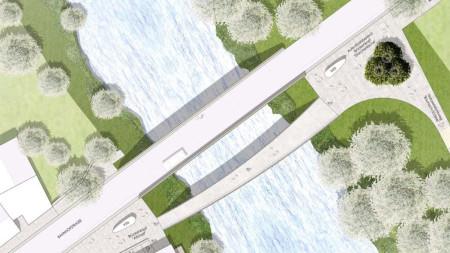 Plan Fußgängerbrücke Baunach 2015 RSP