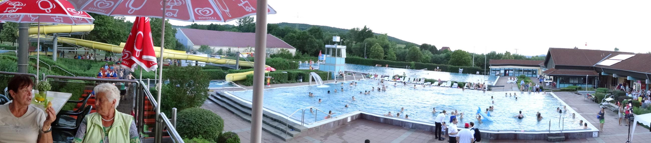 Sommernachtsfest Aquarena 2015 1