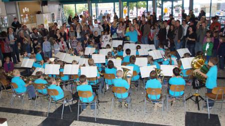 Aula Schule Baunach 2012