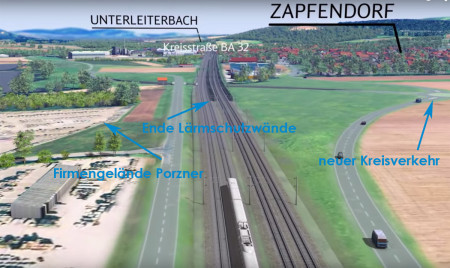 Bahn Zapfendorf Süd 2015
