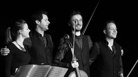 Feuerbach Quartett Bürgerhaus Baunach 2015