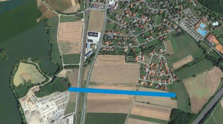 Luftbild Zapfendorf Süd 2015