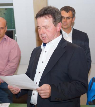 Vereidigung Schonath Zapfendorf 2015