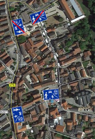 Alstadtbereich Baunach 2015