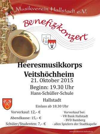 Benefizkonzert Hallstadt 2015