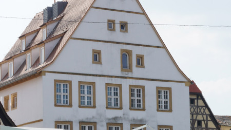Rathaus Hallstadt außen 2014