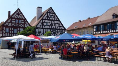 Baunach Marktplatz 2013
