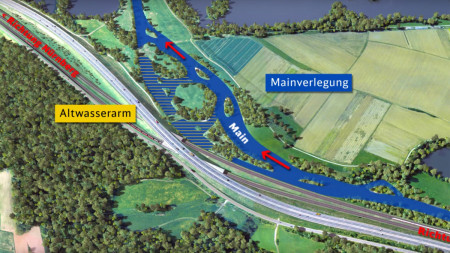 ICE-Ausbau Ebing Mainschleife 2015