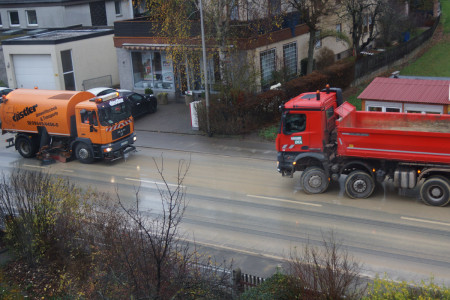 ICE-Baustelle Straßenverschmutzung Zapfendorf 11-2015