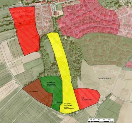 Flächennutzungsplan Pferdehof Baunach 2015