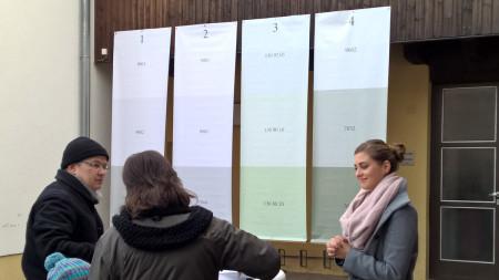 Lärmschutzwände Zapfendorf Ausstellung 2015