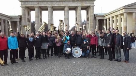 Musikverein Baunach Berlin 2015