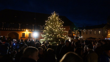 Weihnachtsmarkt Baunach 2015 (2)