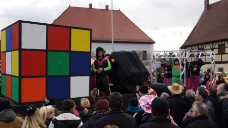 Faschingsumzug Baunach 2016 1