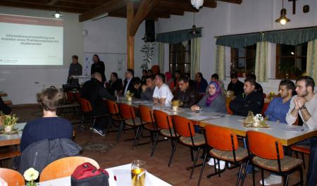 Flüchtlinge Medlitz Job 2016