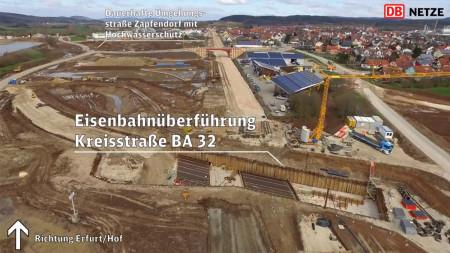 Luftbild ICE-Baustelle April 2016