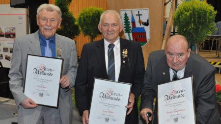 50 Jahre MV Rattelsdorf 2016 Ehrungen