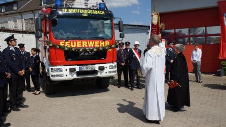 Fahrzeugweihe FFW Breitengüßbach 2016 2