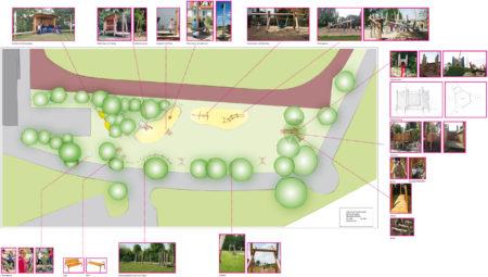 Entwurf Spielplatz Rattelsdorf Spielträume 2016