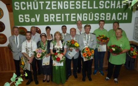 Schützenfest Breitengüßbach 2016