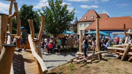 Einweihung Garten KiGa St. Franziskus Hallstadt 2016 2