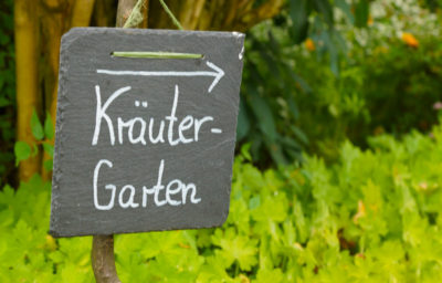 Kräutergarten Abtei Maria Frieden - Kirchschletten 12.07 400